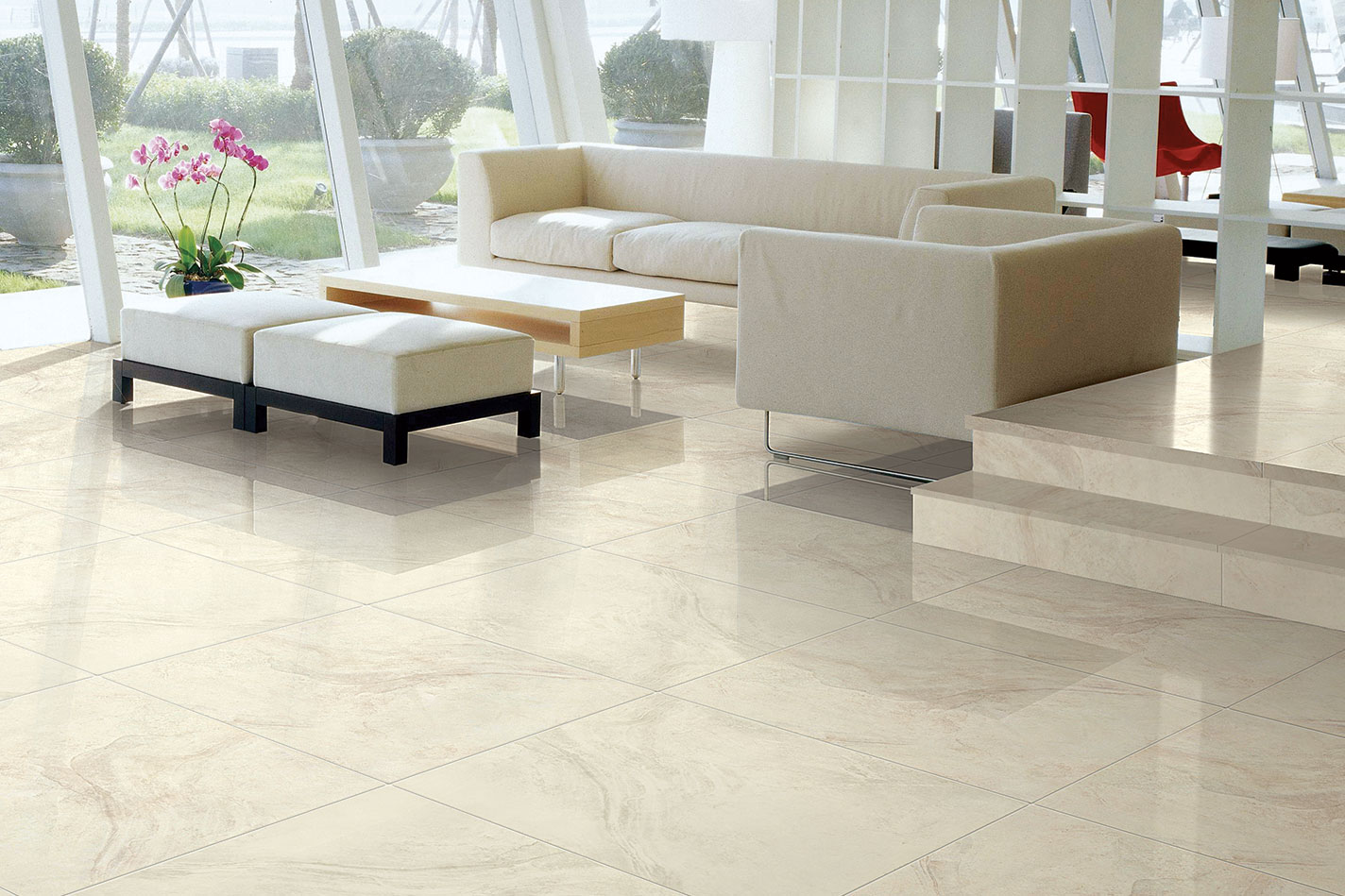 Lifestyles for Geology Ivory Porcelain Tile
