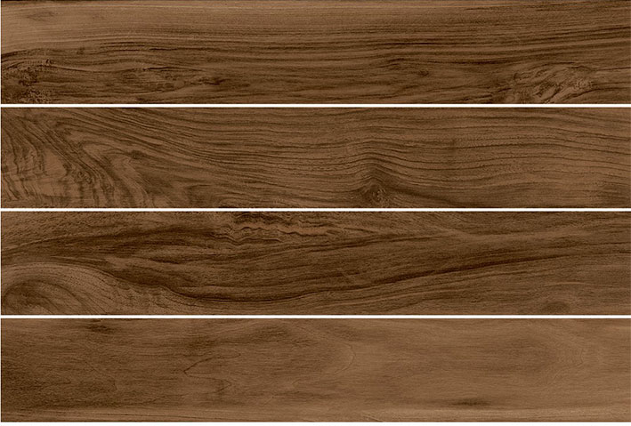 Lint Lands Porcelain- Brown Wood Grain Visual- by Lint Tile