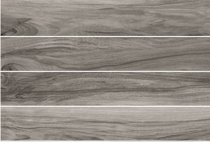 Lint Lands Porcelain- Gray Wood Grain Visual- by Lint Tile