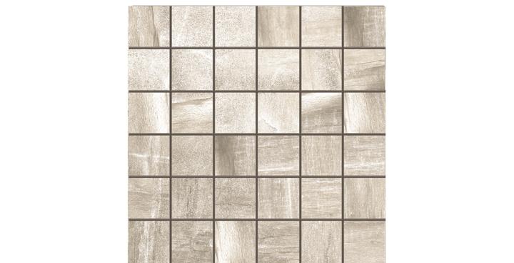 O'Tomi Porcelain Tile-Ash 2 x2 Mosaic-by Lint Tile