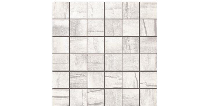 O'Tomi Porcelain Tile-Blanco 2 x2 Mosaic-by Lint Tile