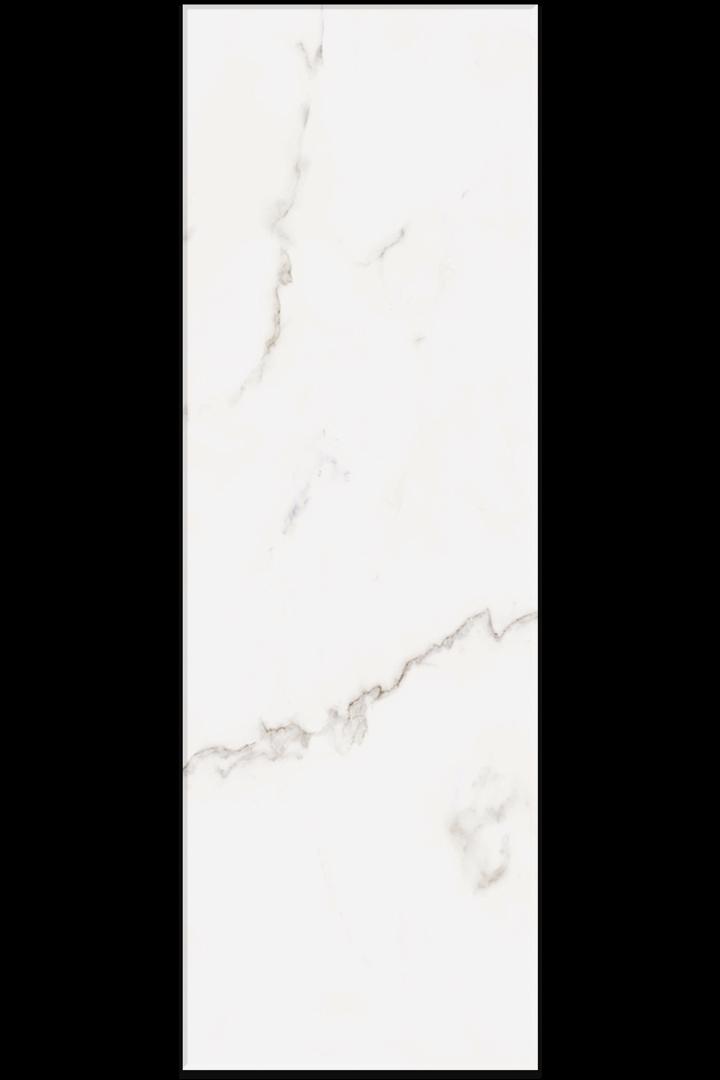 Marbles Porcelain-STATUARIO-10x30-White-body-wall