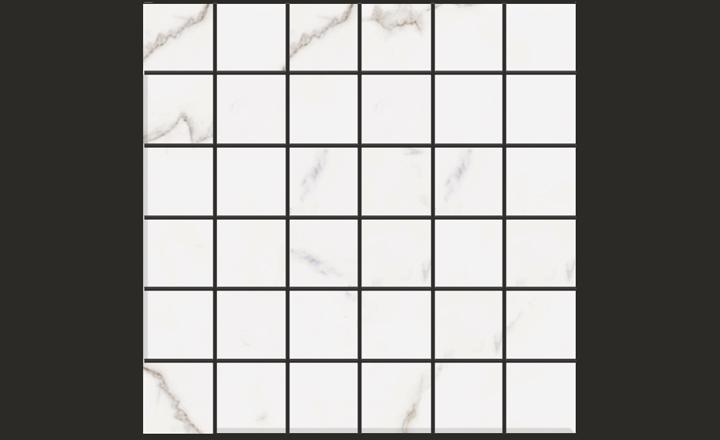 Marbles Porcelain-STATUARIO-2x2-Mosaics