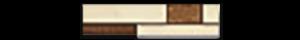 Serena Series-listello-brick-oro-2x8