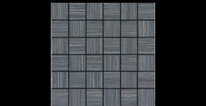 2x2 Silk Stone Black Mosaic Porcelain