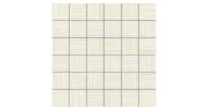 2x2 Silk Stone Ivory Mosaic Porcelain
