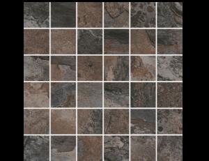 Rajasthan Porcelain-black-2x2-mosaic