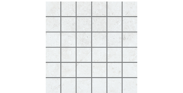 2x2 on 12x12 Marble Folio Daino Reale Mosaics Porcelain