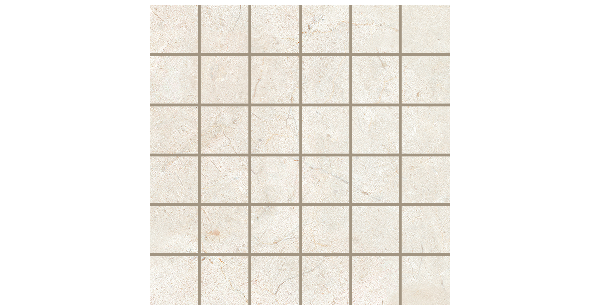 2x2 on 12x12 Marble Folio Marfil Mosaics Porcelain