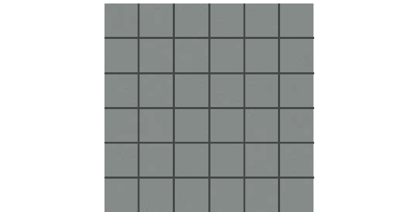 Number 12 Porcelain-2x2-mosaic-NO12-ASH-GRAY-NB54
