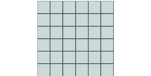 Number 12 Porcelain-2x2-mosaic-NO12-BLUE-NB55