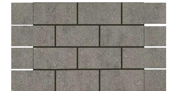Mars Stone Porcelain from Lint Tile-3x6-mosaic-12x18-MARS-STONE-DARK-GRAY-MS05