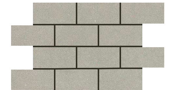 Mars Stone Porcelain from Lint Tile-3x6-mosaic-12x18-MARS-STONE-LIGHT-GRAY-MS03