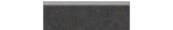 Mars Stone Porcelain from Lint Tile-4x12-bullnose-MARS-STONE-BLACK-MS06
