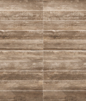 Weathered porcelain brown 6 x 36 plank-floor