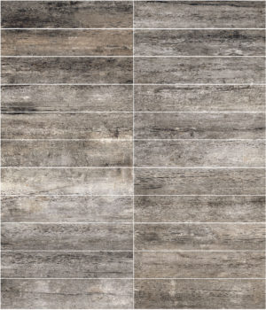 Weathered porcelain charcoal 6 x 36 plank-floor