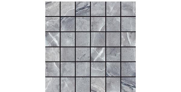 Wild porcelain-Silver-2x2-Mosaic