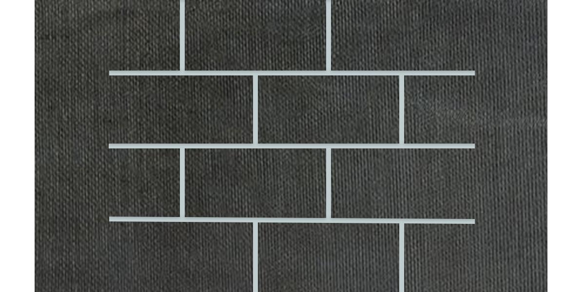 3x6-Mosaic-12x18Sheet-FabricFolio-Black-FB04