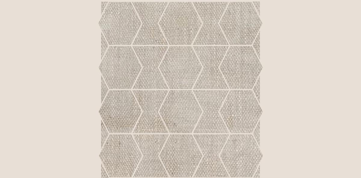 HEX-Mosaic-10-12x12Sheet-FabricFolio-Ivory-FB01