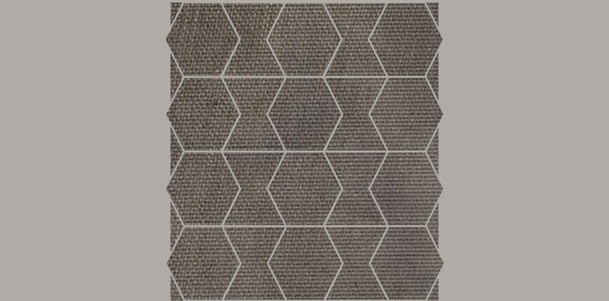 HEX-Mosaic-10-12x12Sheet-FabricFolio-Taupe-FB03