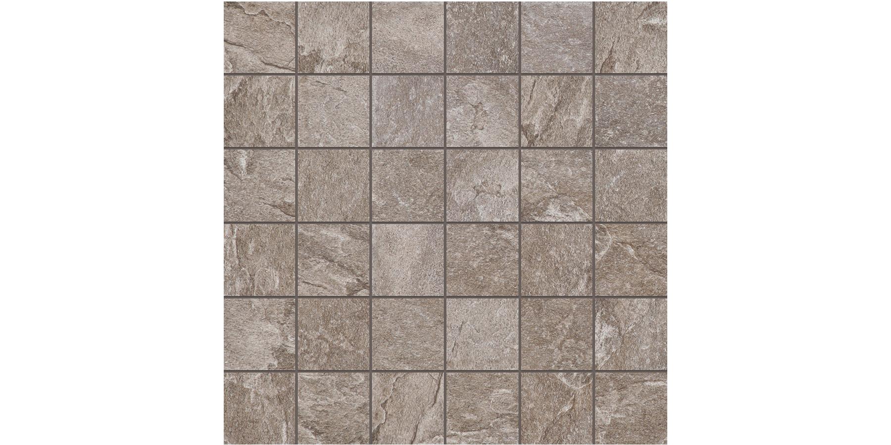 2x2 Himalaya Taupe Mosaics