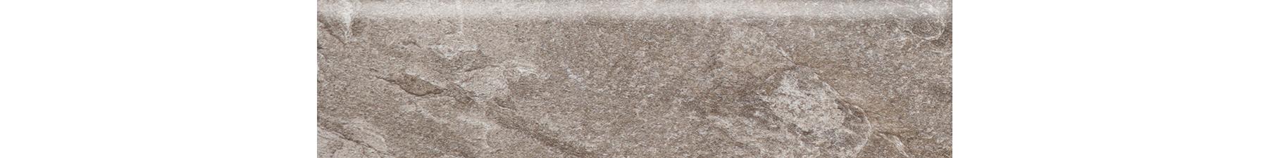 3x12 Himalaya Taupe Bullnose Porcelain Tile