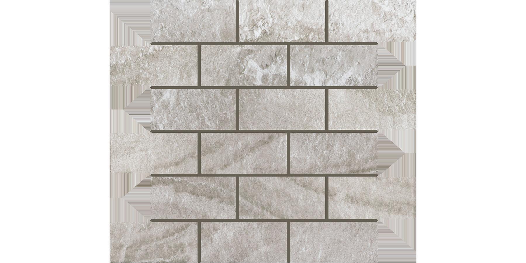 2x4 Levian Grey Brick Mosaics