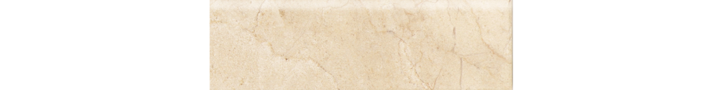 3x10 Alicante Cream Bullnose Ceramic Wall Tile