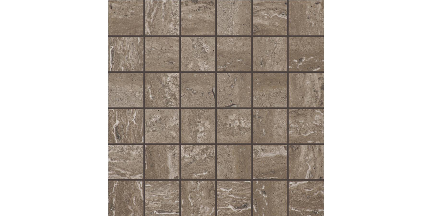 2x2 Torano Brown Mosaics