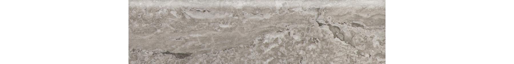3x12 Torano Grey Bullnose Porcelain Tile