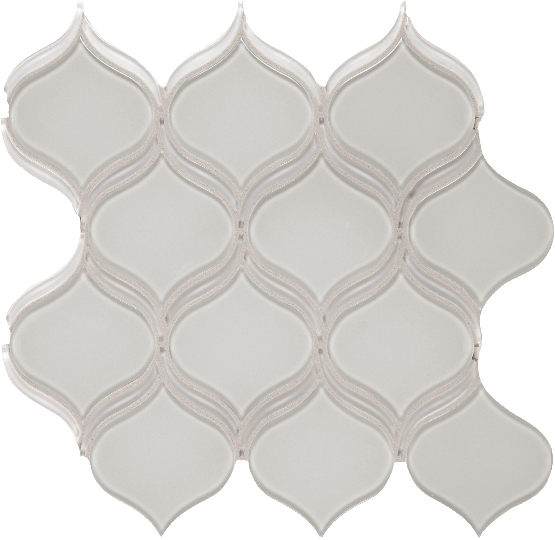 Element Mist Glass Arabesque Mosaics