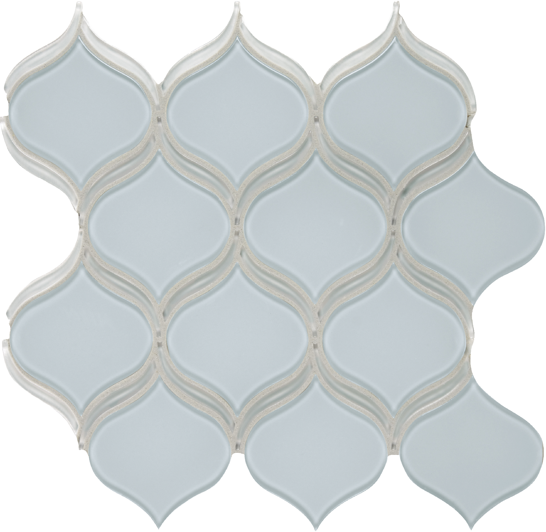 Element Skylight Glass Arabesque Mosaics