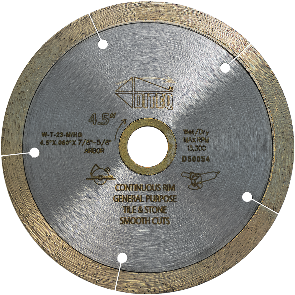 "Diteq® 4.5"" Spider Cutting Blade"