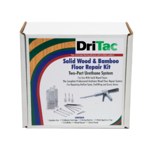 DriTac Solid_Bamboo_Floor Repair Kit Box - New Logo