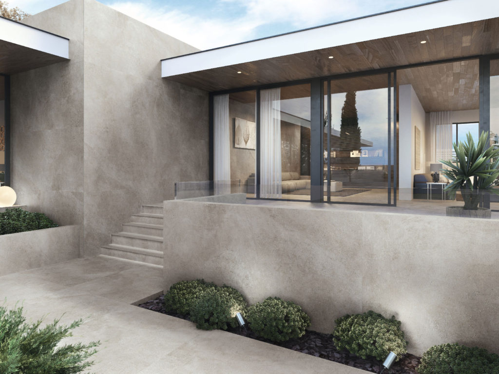 "Lifestyles for Habitat Large Porcelain Panels/Tiles- 47.25"" × 102.35"""