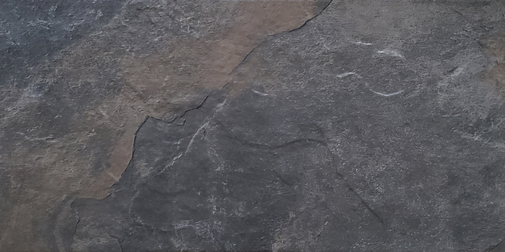 12x24 Boulder Black Rock Porcelain Tile