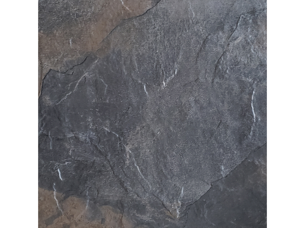 18x18 Boulder Black Rock Porcelain Tile