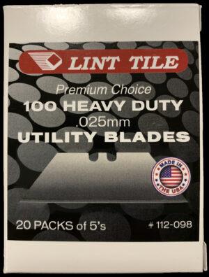Lint Tile Heavy Duty Utility Blades