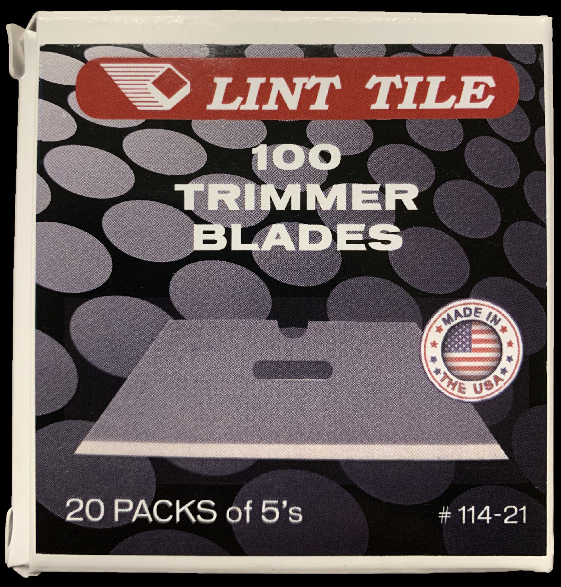 Lint Tile Trimmer Blades
