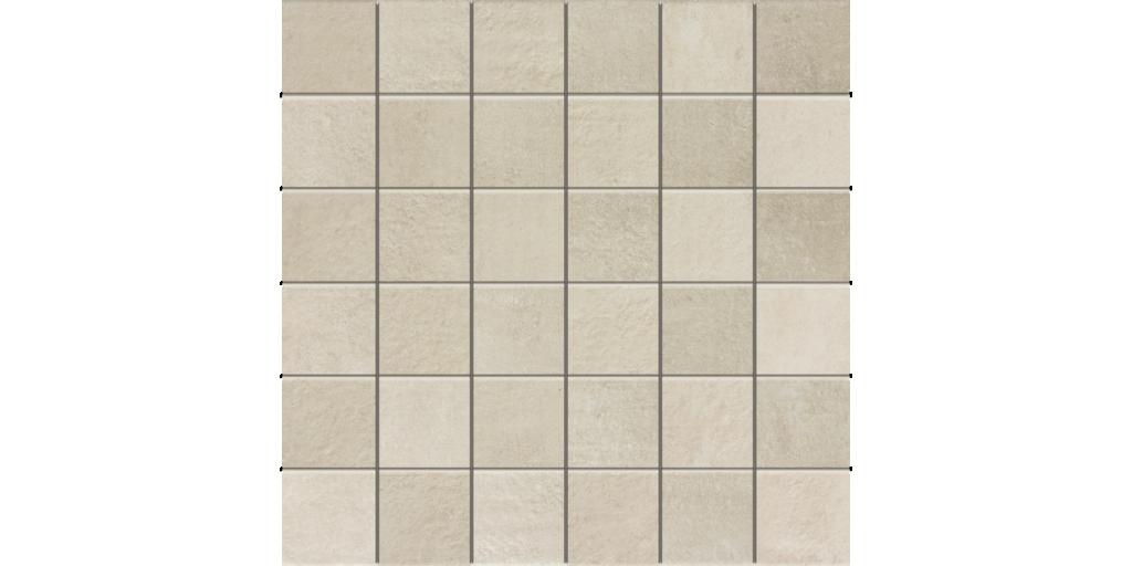 District Blanco 2x2 Porcelain Mosaic Tile