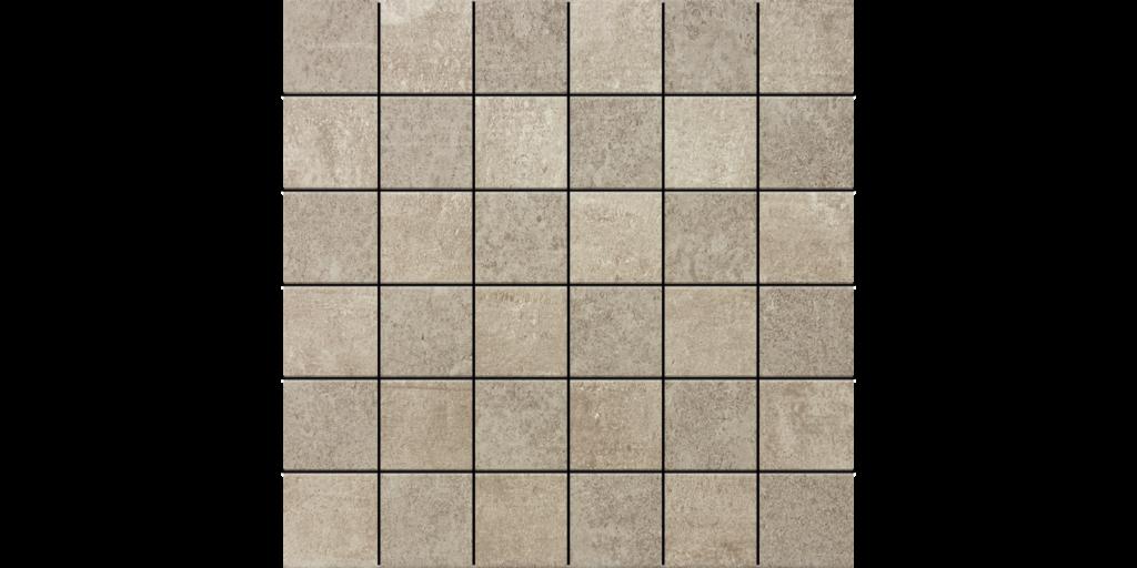 District Gris 2x2 Porcelain Mosaic Tile