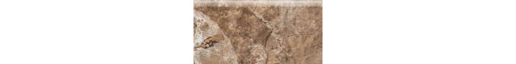 States Nut 3x6 Porcelain Bullnose Floor or Wall Tile