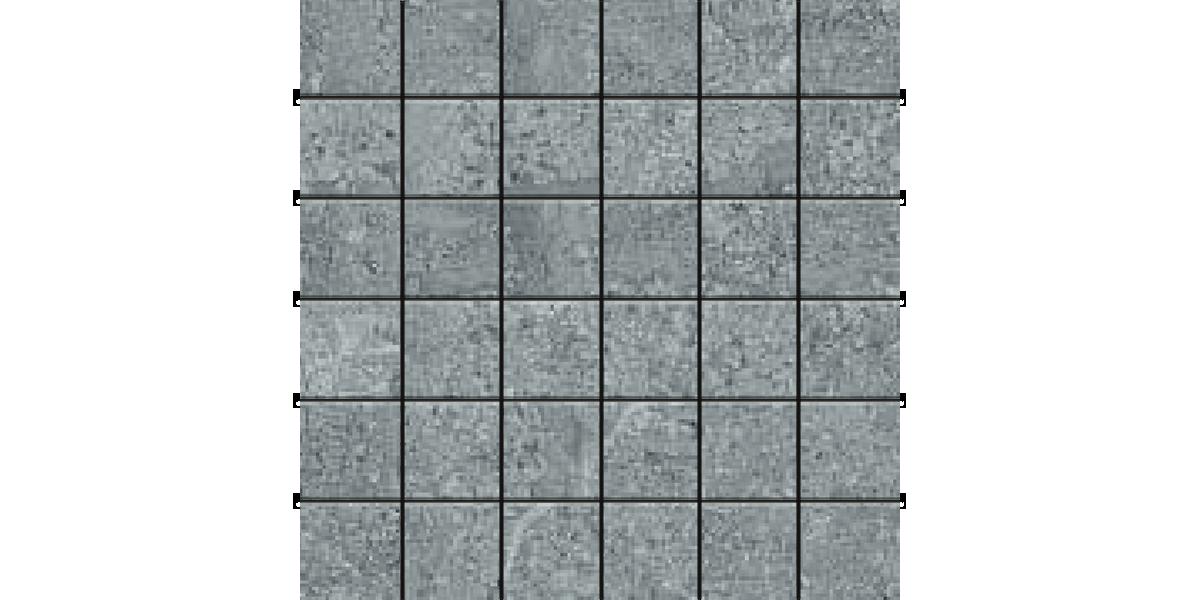 AEGEAN STONE DARK GRAY 2x2 Mosaics Porcelain