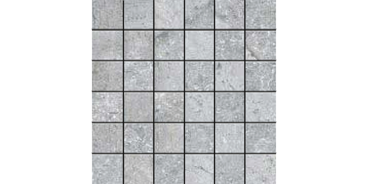 AEGEAN STONE LIGHT GRAY 2x2 Mosaics Porcelain