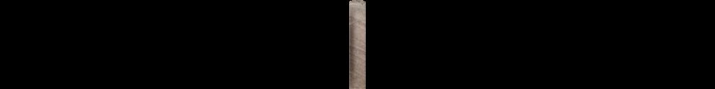 Fossilique Stone 1x6 Cove Corner Porcelain Floor Mineral Umber