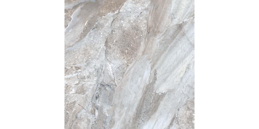 FossiliqueStone 24x24 Porcelain Floor Crystal Gray