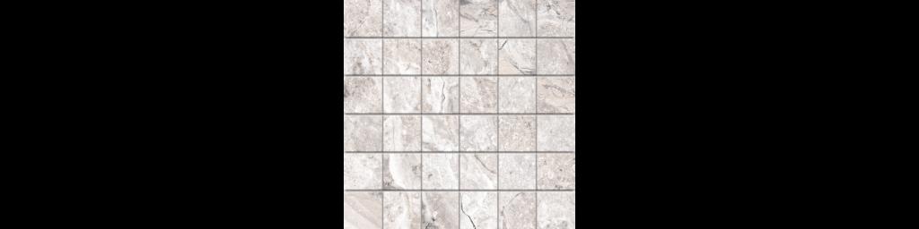Fossilique Stone 2x2 Mosaic 12x12 Sheet Porcelain Floor Bedrock Beige