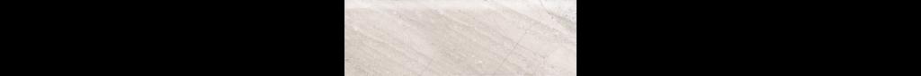 Fossilique Stone 4x12 Bullnose Porcelain Floor Bedrock Beige