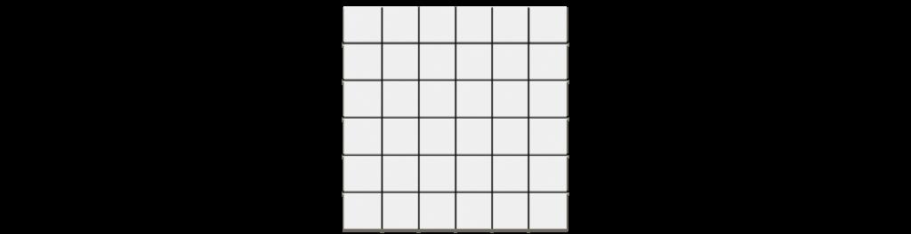 Polar Style White 2x2 Mosaic matte porcelain tile