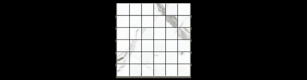 Preeminent White PR01 2x2 Mosaic matte or porcelain tile